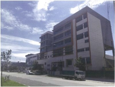 5-Storey Single User Refuse Truck Depot with Temporary Ancillary Worker's Dormitory